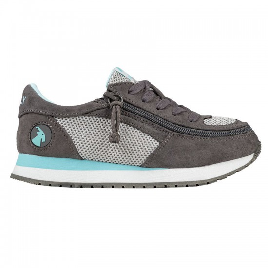 BILLY jogger for kids, gray/mint
