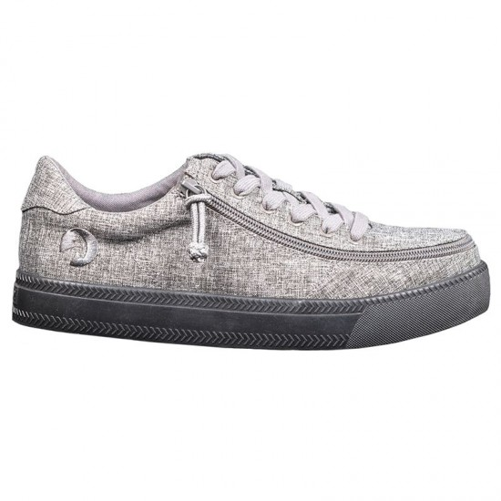 BILLY Classic Low for men, gray black sole