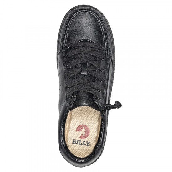BILLY Low Sneakers - faux leather, black