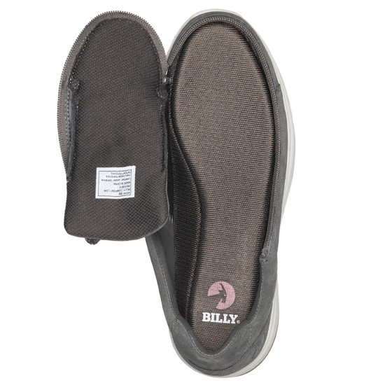 BILLY Comfort Low - Suede, grey