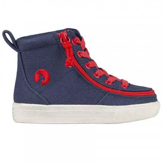 BILLY Classic High for toddlers - navy/red